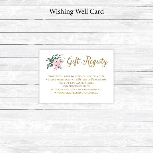 Wishing Well card